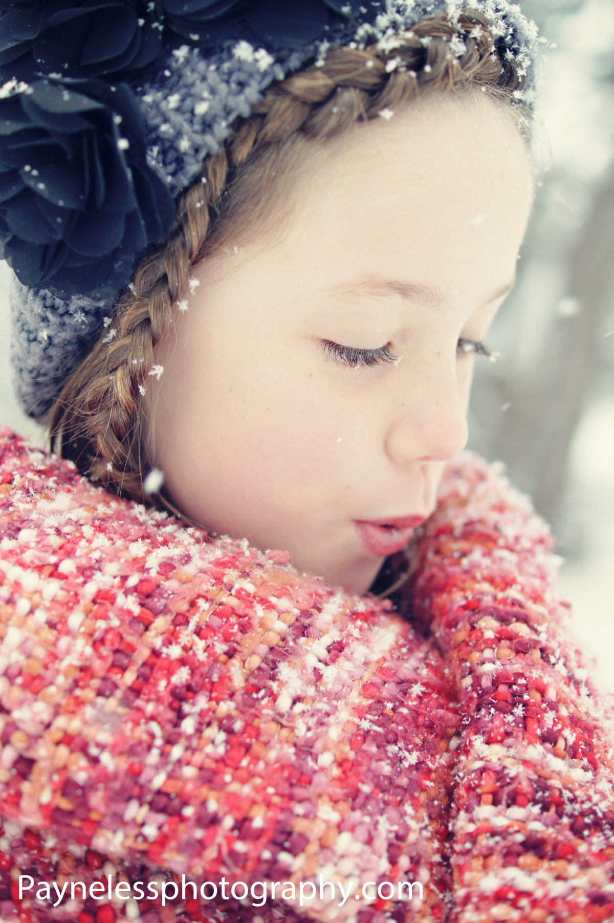 Dreamy Photos in the Snow